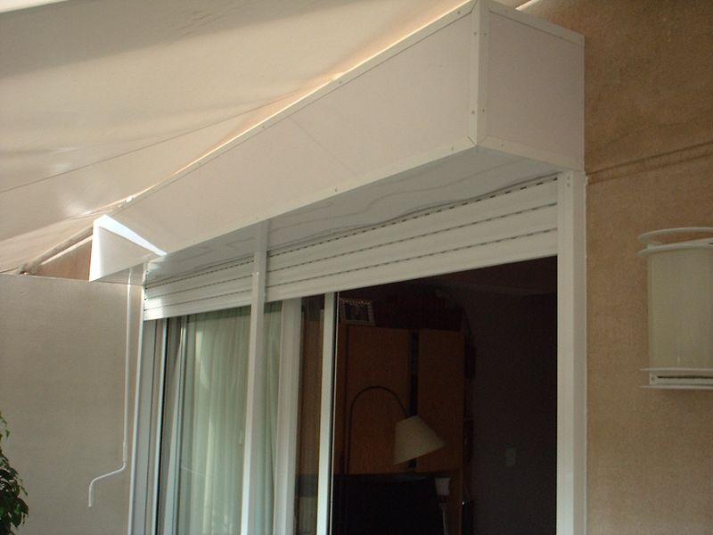 Sr hogar cerramientos de aluminio y cortinas for Cortinas para puertas de exterior